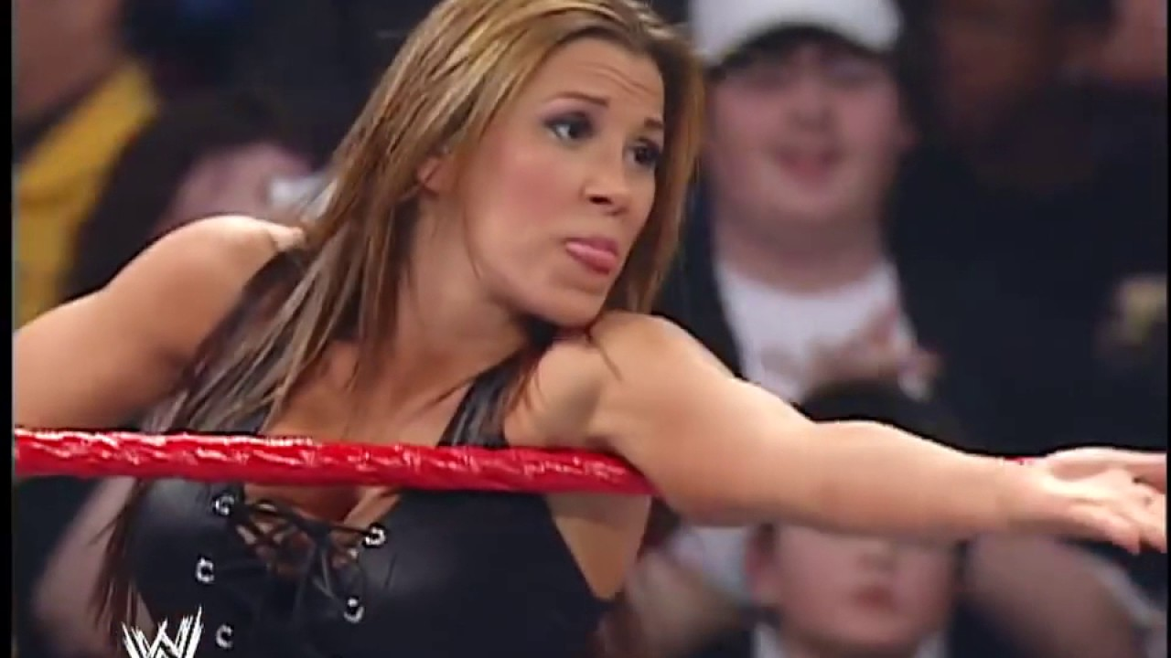 Download WWE RAW 09/04/2007 │Mickie James & Candice Michelle vs  Victoria & Melina