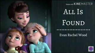 All Is Found-1 Hour Loop  Frozen 2