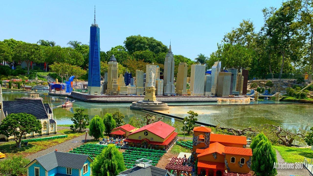 Tour of Miniland USA - Legoland 2020 - Lego Theme Park