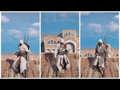 AC Origins All Ubisoft Club Outfits.