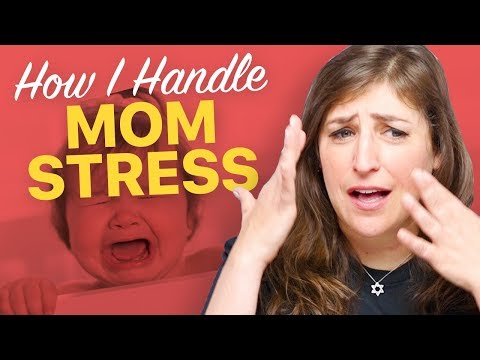 How Do I Handle Mom Stress?  Mayim Bialik