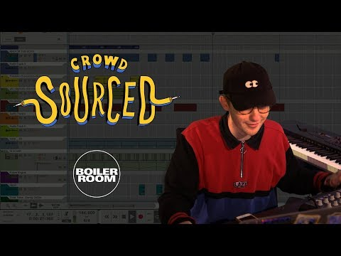 Iglooghost makes beats from sounds you send in | Boiler Room 'Crowdsourced'