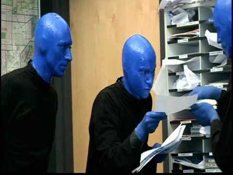 Chicagoans go behind the scenes with Blue Man Group