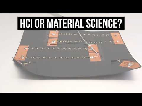 HCI meets Material Science