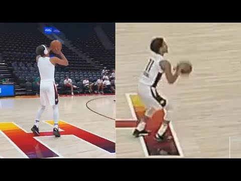 Trae Young Shows Stephen Curry Range Then Struggles During Game vs Spurs! 2018 NBA Summer League