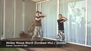 [PARAPARA] MICKEY MOUSE MARCH ~EUROBEAT VERSION~ / DOMINO (HYPER PARA GX)