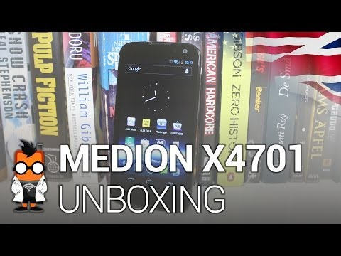 Medion Life X4701 - Tegra 3 quad core smartphone - unboxing and first impressions [ENG]