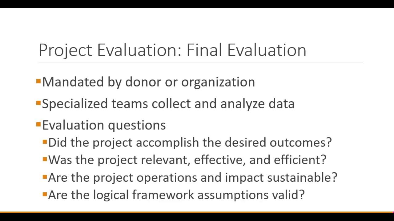Evaluation Fundamentals >> Project Management Fundamentals Project Monitoring Evaluation And Control