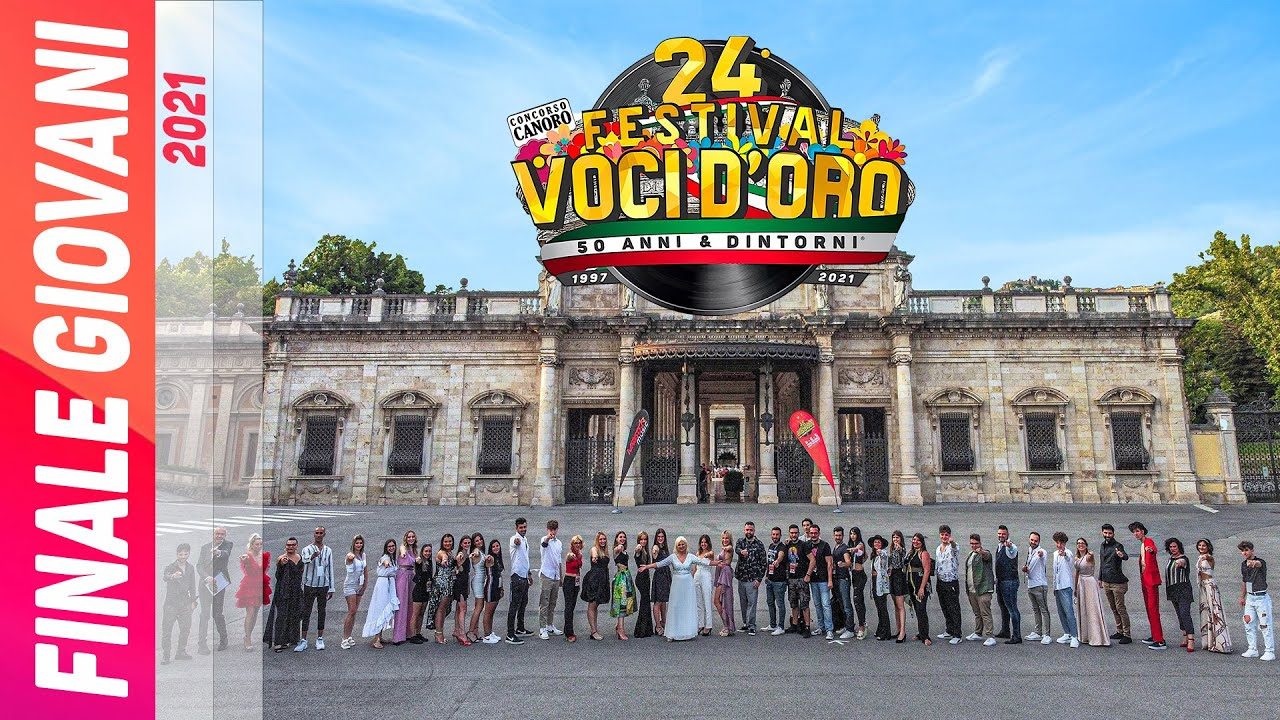 In uscita il Video TV finale Giovani 24° Festival Voci d'Oro 2021