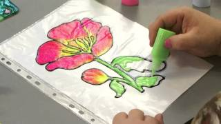 Рисуем витражными красками. Наборы от
