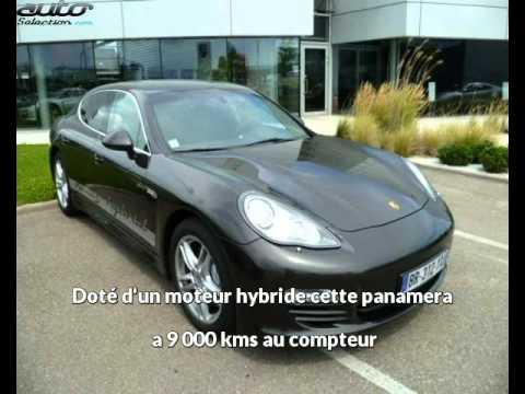 Porsche panamera occasion visible à Hoenheim présentée par K67