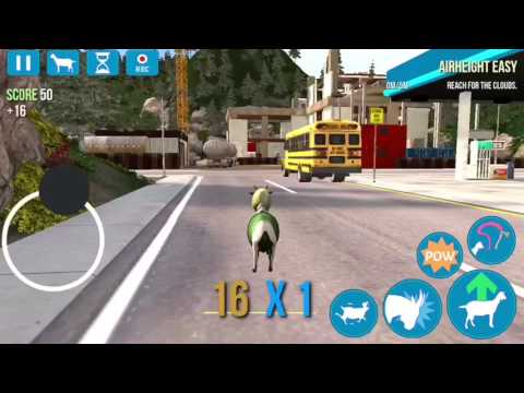 How to get the anti-gravity goat in goat simulator IOS