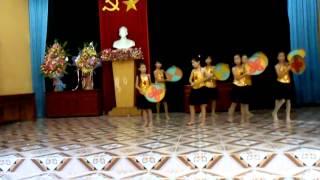 Bức Họa Đồng Quê Thiếu nhi chị đoàn 3 Xuân Huy-Lâm Thao-Phú Thọ