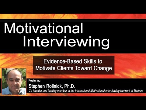 Identifying and Guiding Change Talk with Stephen Rollnick, Ph.D.