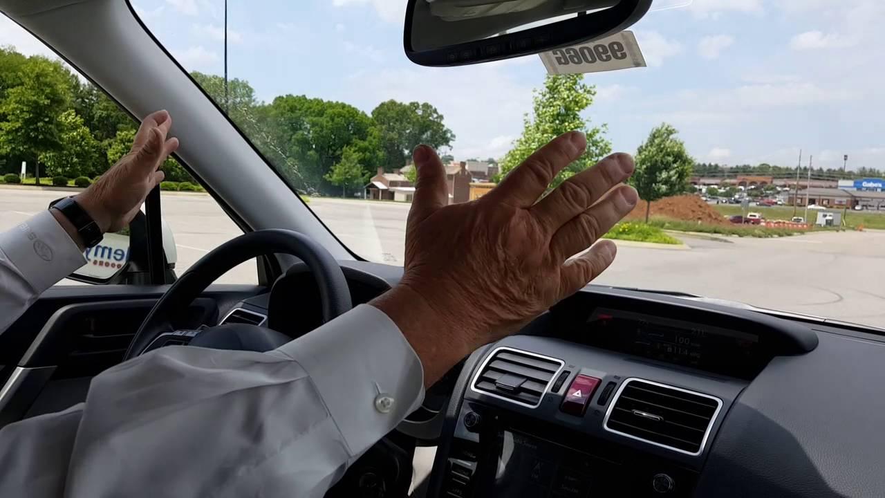 2016 Subaru Forester Eyesight Adaptive Cruise Control