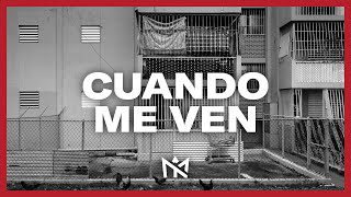 Myke Towers - Cuando Me Ven (Lyric Video)