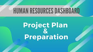 Human Resource Dashboard Project Plan And Preparation - Fun X Excel - Excel Dashboard 002