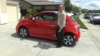 Fiat 500e 2014 Videos