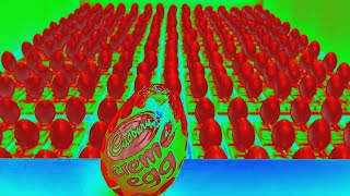Cadbury's Creme Egg  Here Today, Goo Tomorrow in RedHeliumChorded