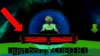 Roblox simulador alienígena parte 10, acabei de comprar UFO 8,0