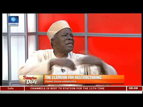 FG Should Create Structure To Resolve Calls For Restructuring - Prof. Akintoye |Sunrise Daily|