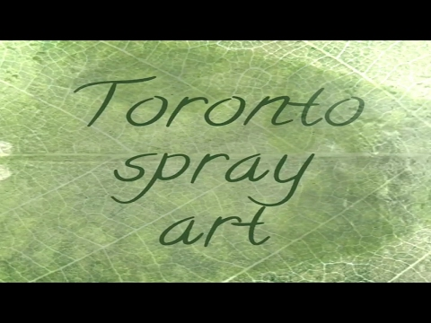 Toronto Graffiti Art /spray Paint Art