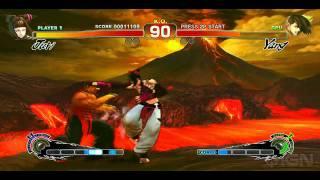 Street Fighter 4 Arcade Edition: Juri vs Yang PC Gameplay