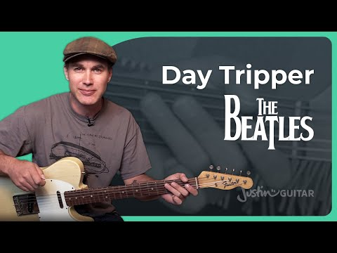 How to play Day Tripper by The Beatles (Guitar Lesson SB-225)