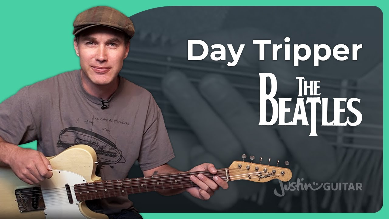 how to play day tripper by the beatles guitar lesson sb 225 guitar academies. Black Bedroom Furniture Sets. Home Design Ideas