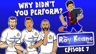 EPISODE 7 - the ROY KEANE SHOW! MSN grilled after 4-0 PSG!