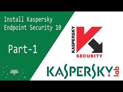 Kaspersky | Install kaspersky Endpoint Security 10 on Windows Server 2012 R2 - Part 1 | Linux0