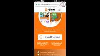 Free & premium Aptoide for iOS 10,9 and No Jailbreak Download Now