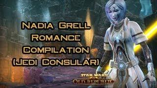 SWTOR: Nadia Grell Romance Compilation (Jedi Consular)