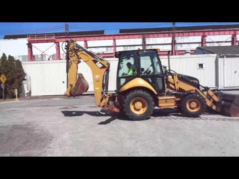 2010 Caterpillar Backhoe -  Heavy Equipment Auction Philadelphia PA