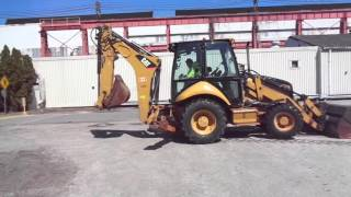 2010 Caterpillar Backhoe -  Heavy Equipment Auction Philadelphia PA