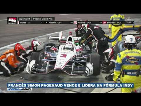 Pagenaud vence e lidera na Fórmula Indy