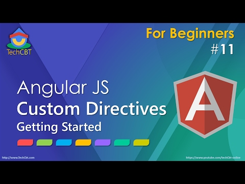 AngularJS: Custom Directives - Getting Started