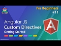 AngularJS: Custom Directives - Getting S