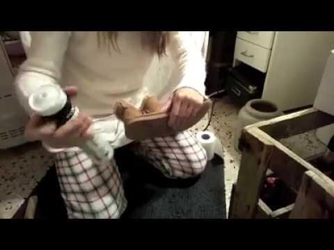Avec Chaussures Ça Recoller Du Des Marche Youtube Mastic wx5wqES