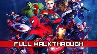 MARVEL ULTIMATE ALLIANCE 3 – Full Gameplay Walkthrough / No Commentary 【Full Game】