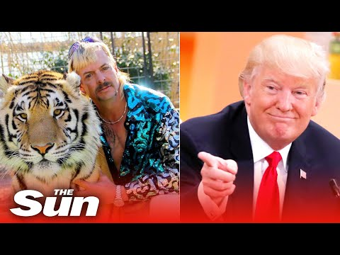 Donald Trump says Boris Johnson is doing better and vows to take a look at Joe Exotic conviction