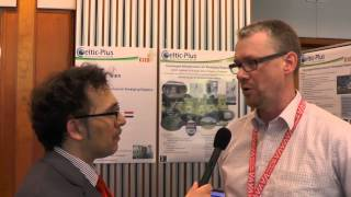 Interview with Jens Mödeker from the CIER project at the Celtic-Plus Event 2015