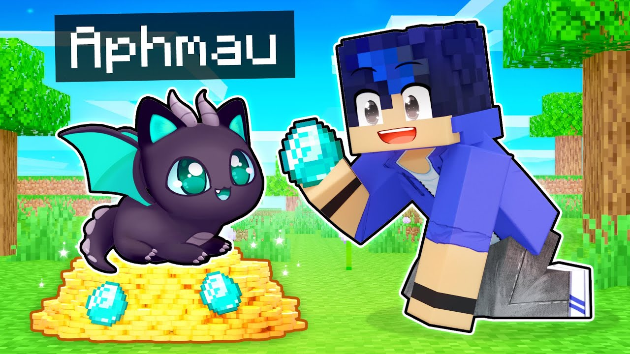 Download Playing Minecraft as a LOYAL Dragon Kitten!