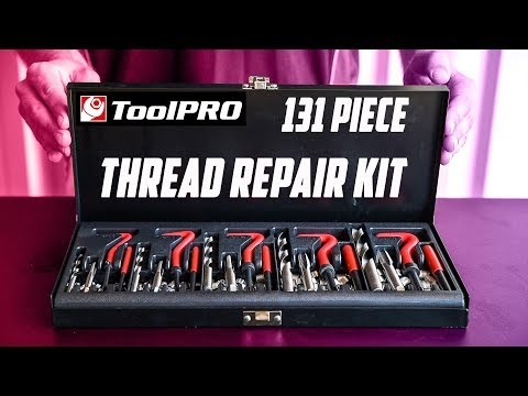 How to use a ToolPRO Thread Repair Kit // Supercheap Auto