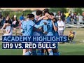 BOYS ACADEMY HIGHLIGHTS | NYCFC U-19s vs. Red Bulls | 09.28.19