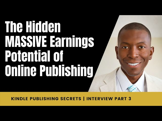 The Hidden MASSIVE Earnings Potential of Online Publishing   Interview with Linda Allen   Part 3/7