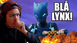 The MOST RARE leather in Fortnite right now! (Blue Lynx)