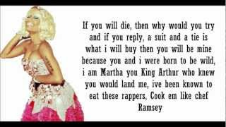 Nicki Minaj- Born To Be Wild Verse Lyrics