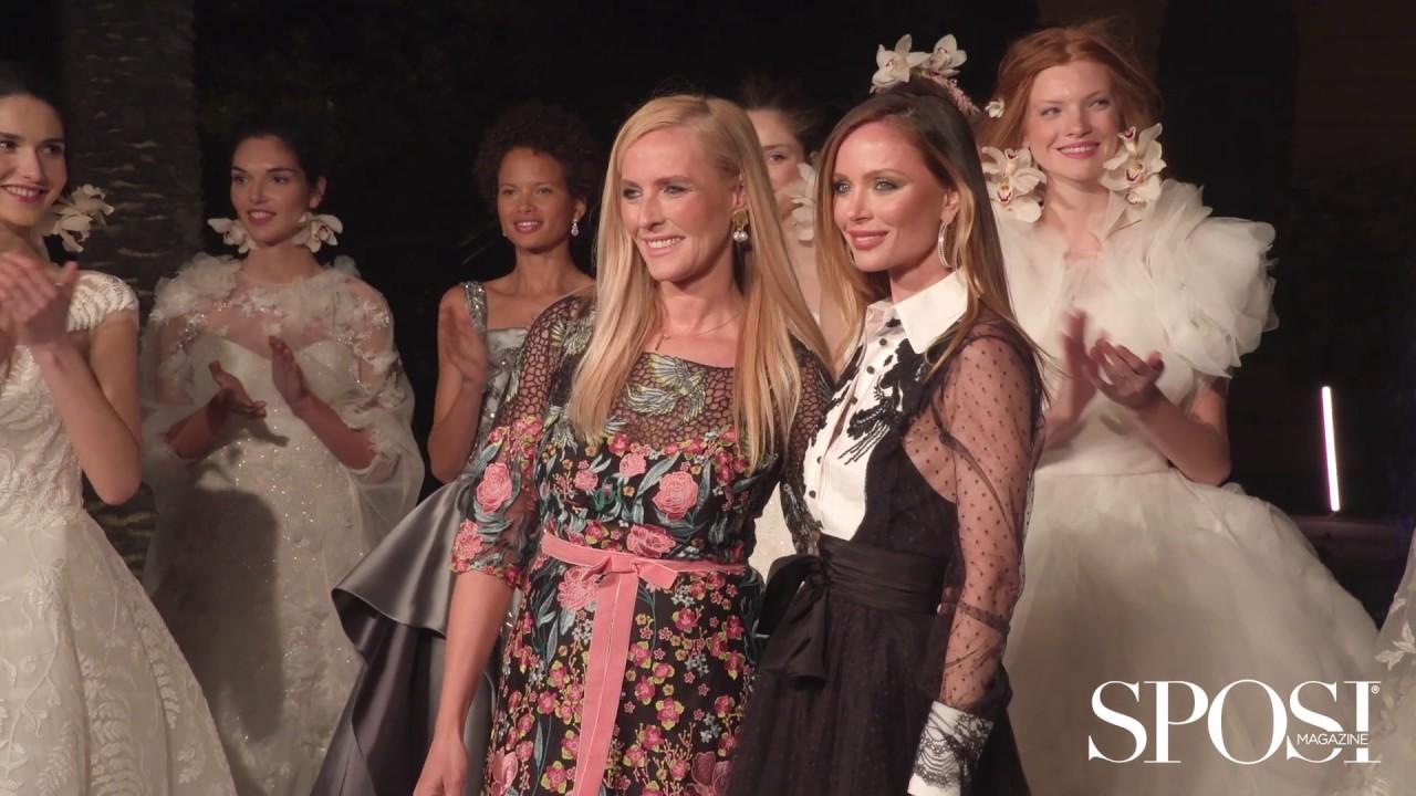 Vestiti Da Sposa Youtube.Abiti Da Sposa Marchesa 2020 L Haute Couture Incontra La Moda