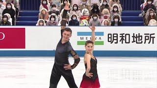 Анастасия Мишина Александр Галлямов Пары Командный чемпионат мира по фигурному катанию 2021